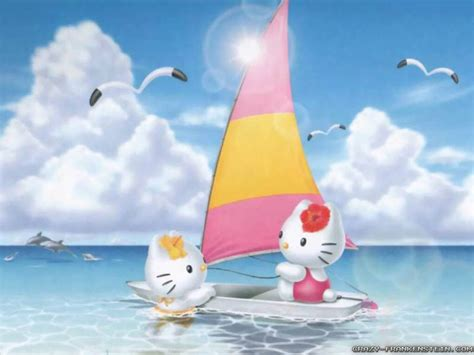 Hello Kitty Wallpaper Summer   50 hello kitty wallpaper and backgrounds