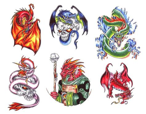 fantasy dragon tattoo designs 40 tattoos designs images and ideas