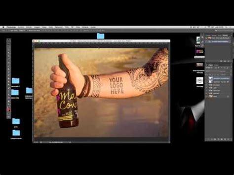 tattoo mockup photoshop free tattoo beer mockup youtube
