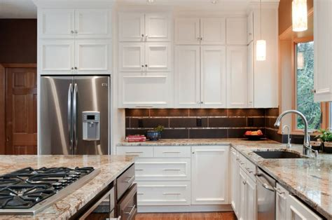 how deep are upper kitchen cabinets standard bathroom cabinet height 36 vs 42 kitchen cabinets