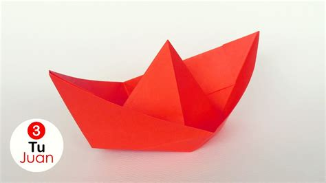como hacer un barco origami de papel barco de papel origami juantu3