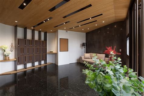 Low Ceiling Design by Concentrated Residence The Lobby To Improve Low Ceiling