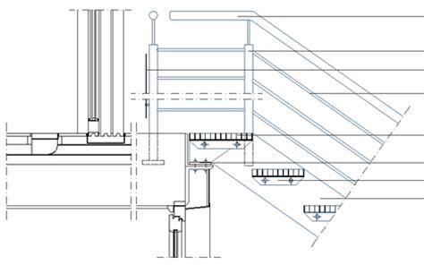 ringhiera in ferro dwg dettaglio scale 2d in metallo