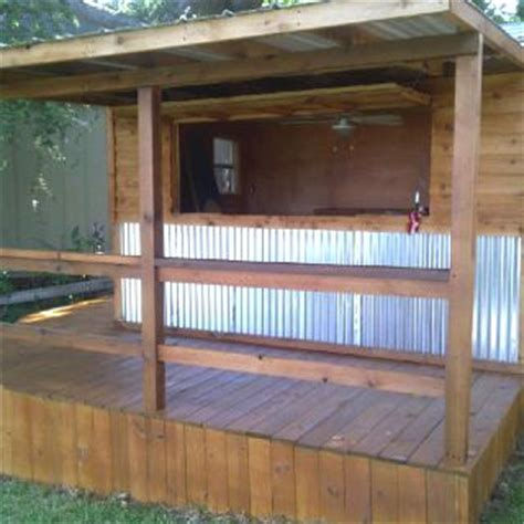 Epic Bar Shed Plans by Our New Tiki Bar A Converted Shed For The Lake House