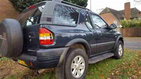 vauxhall frontera 2 2 rs dti 4x4 suv 4wd jeep land rover
