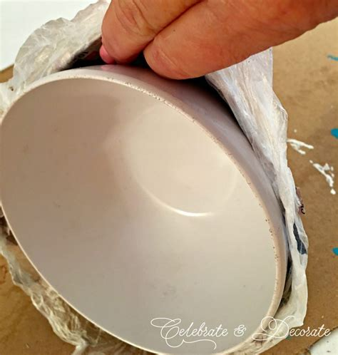How To Make Paper Mache Bowls - diy paper mache bowl celebrate decorate
