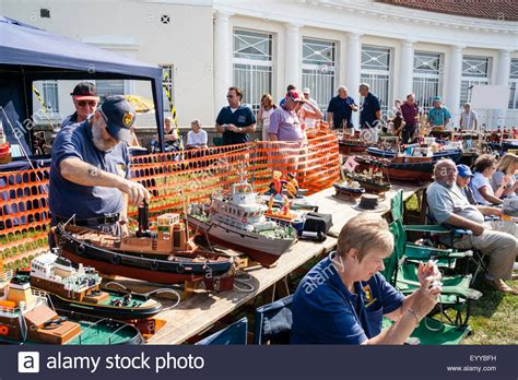 model boats england england ramsgate model boat show with row of model ships