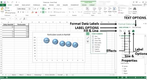 format excel for labels excel charts aesthetic data labels