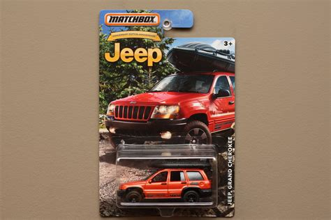 matchbox jeep grand matchbox 2016 jeep anniversary edition jeep grand