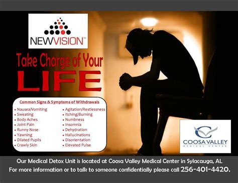 New Visions Detox Wuesthoff by Detox Program Available At Cvmc Coosa Valley