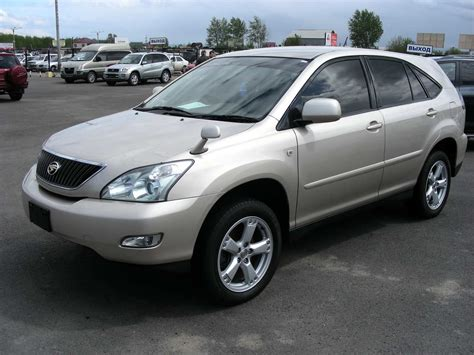 Toyota Harrior 2003 Toyota Harrier Pictures 3 0l Gasoline Automatic