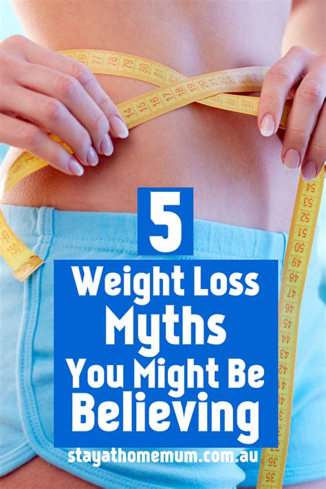 5 weight loss myths 5 weight loss myths you might be believing stay at home