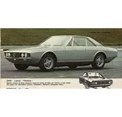 1969 Lancia Marica Ghia  Studios