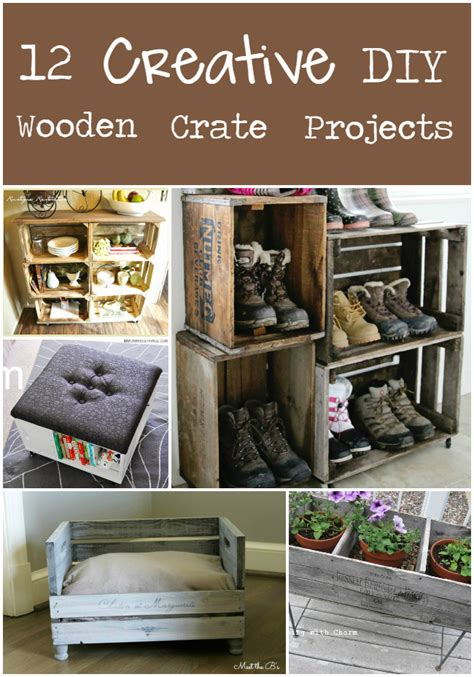 diy projects wood 12 creative diy projects from wooden crates the