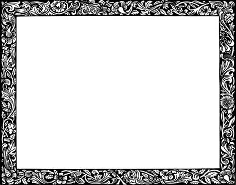 decorative page border clipart best