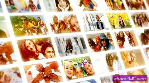 After Effects Project 187 Free After Effects Templates Videohive Free Ae Projects Free Photo Mosaic After Effects Templates