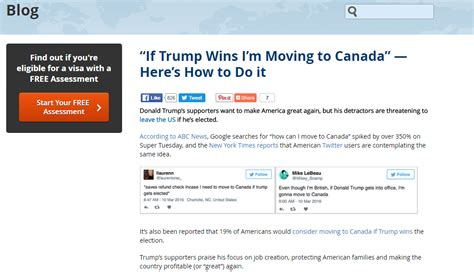 moving to canada content great again how 1 post generated 50 leads for visaplace powered by search