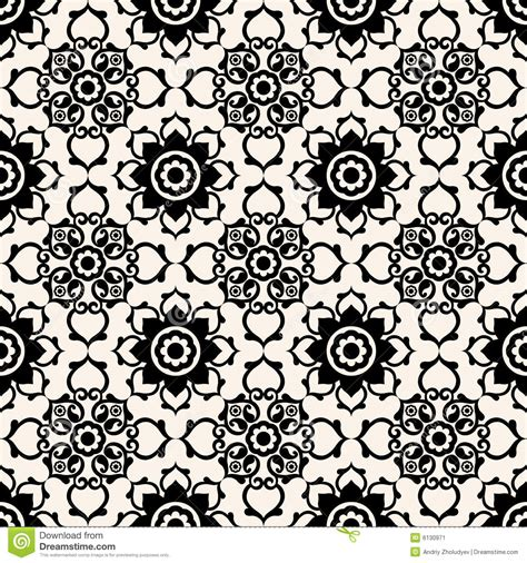 pattern baroque vector baroque floral pattern stock image image 6130971