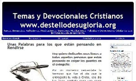 Temas Para Predicar Temas Y Devocionales Cristianos | temas y devocionales cristianos blogs cristianos