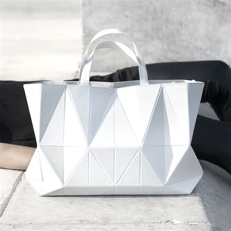 Origami Handbag - origami handbag graphic minimal bag geometric fashion