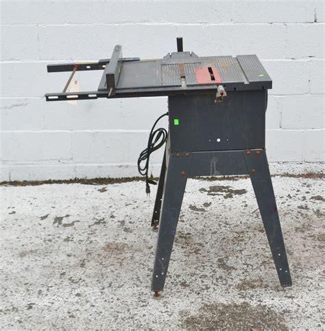 craftsman bench saw craftsman 10 inch table saw model 113 295752 3758 39 ebay