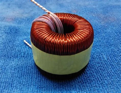what is a pfc inductor 5kw sendust magnetic ring sine wave inductance inverter filter inductor pfc induction coil