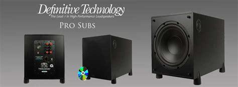 stereo shop definitive pro subwoofers