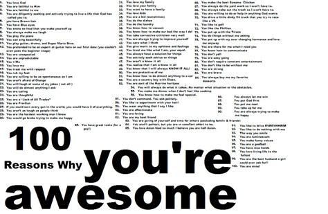 100 reasons why i love you from the dating divas southern simplicity 100 reasons why my husband is awesome