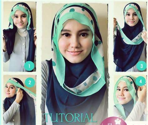 how to drape a hijab beautiful hijab tutorial for the round face hijabiworld
