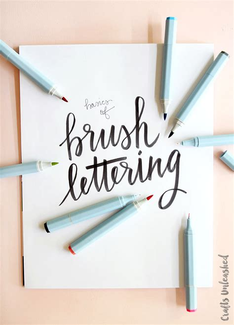 hand lettering tutorial love hand lettering basics with watercolor markers consumer