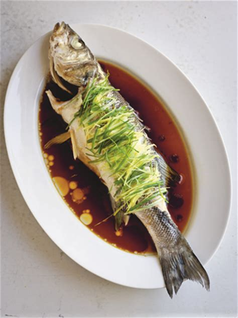 new year whole fish recipe new year recipe steamed sea bass with and