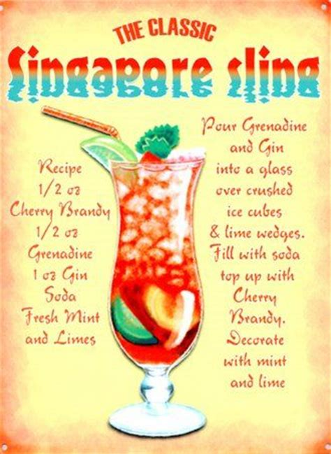 singapore sling recipe dishmaps