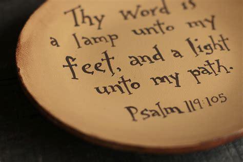 thy word is a l thy word is a l unto my plate the patch