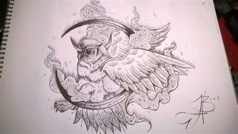 owl tattoo design drawing image gallery owl tattoo drawings