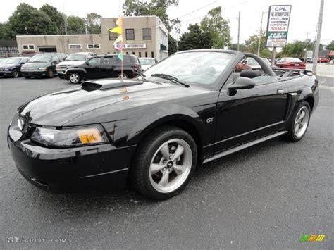 mustang convertible black 2001 black ford mustang gt convertible 36622799