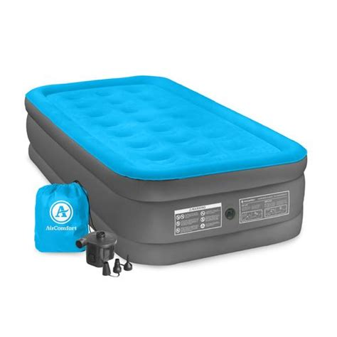 Battery Air Mattress by Air Comfort C Mate Raised Size Air Mattress With Battery Powered Academy