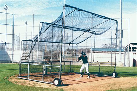 Backyard Baseball Backstop Non Folding Portable Backstop Batting Practice Batting Cage