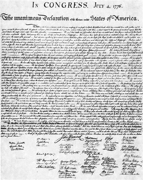 printable declaration of independence rightsforall the declaration of independence