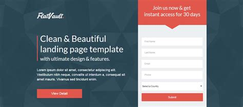 landing page templates for 20 extremely effective unbounce landing page templates