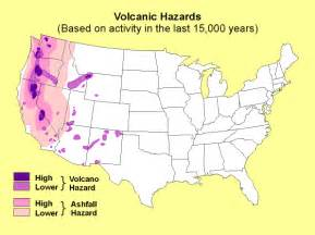 geographic risk for volcanoes