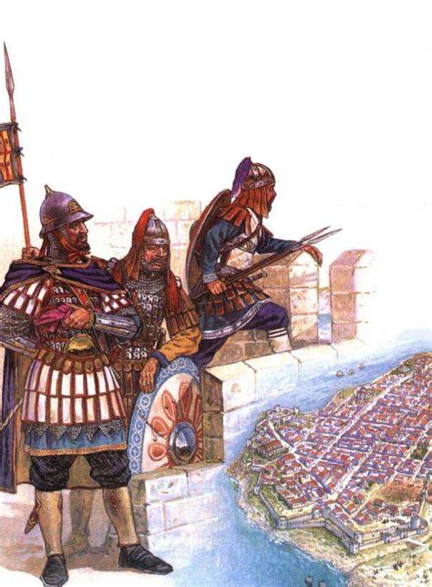 picturing history at the ottoman court finding history 187 how did the byzantine army change over