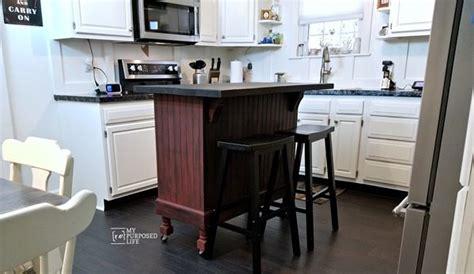 kitchen island makeover my repurposed 174