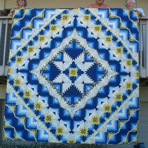 Log Cabin Patchwork History - 17 best images about pineapple quilts on quilt