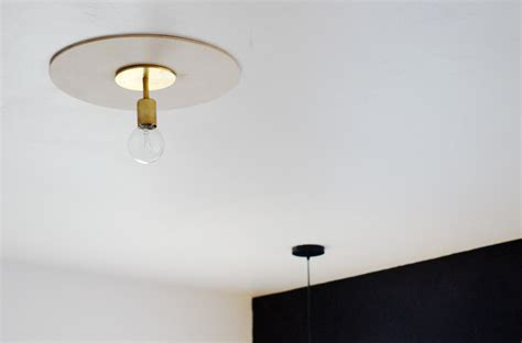 Light Fixture Ceiling Medallion Brick House