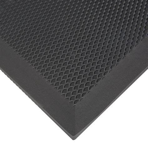 1 Rubber Mat by Cactus Mat 2200 23 Vip Black Cloud 2 X 3 Black Grease