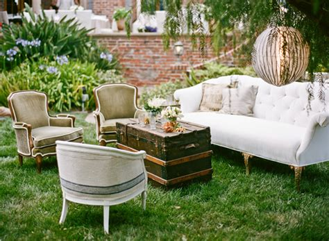 outdoor furniture rentals tess luxurious garden wedding in los angeles snippet ink snippet ink