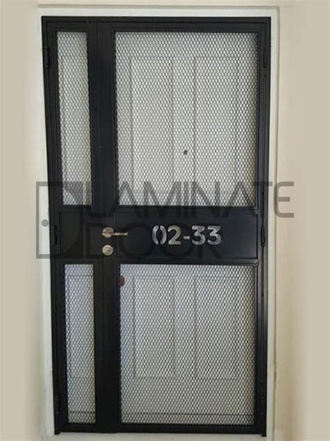 ld mild steel gate mesh gate laser cut unit number hdb fire rated door metal gate bedroom door supplier singapore