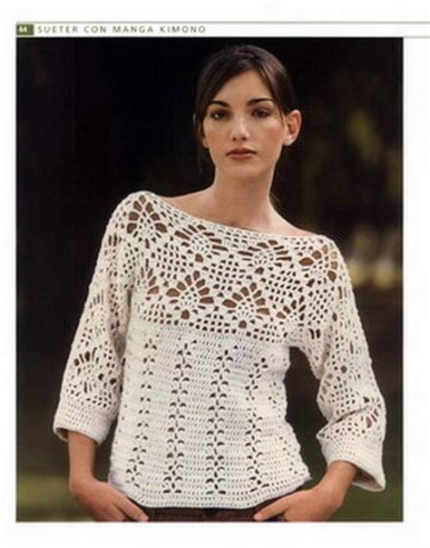 top 12 tnicas eu moda blusas tejidas a crochet pinterest ideas