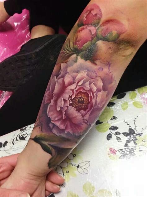 tattoo parlour chelmsford moule watercolour tattoo pinterest peonies sleeve