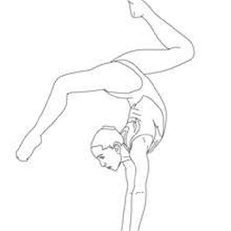 realistic gymnastics coloring pages gymnastik zum ausmalen zum ausmalen de hellokids com